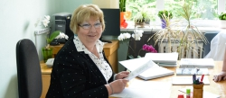 Lubov G.Buchinskaya — Laureate of the O.O. Bogomolets Award of NAS of Ukraine, Head of the Laboratory of Cancer Genetics, Vice Director for Science